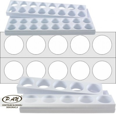 Petit-four moulds CIRCLE FBL01