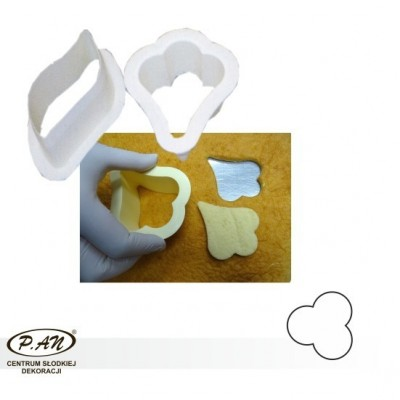 Cutters to go with moulds CLOVERLEAF  FBL11W