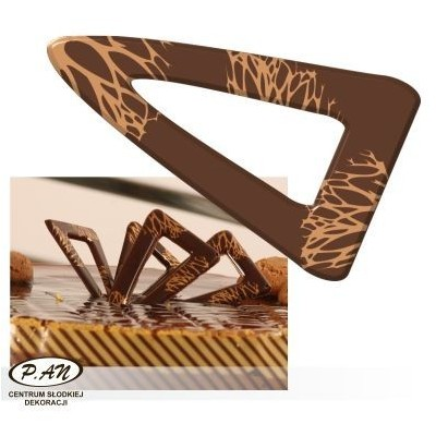 Chocolate decoration - triangular 60 mm - DC103