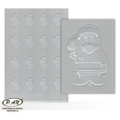 Plastic moulds for mini chocolate decorations FP3028