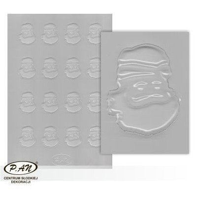 Plastic moulds for mini chocolate decorations FP3029