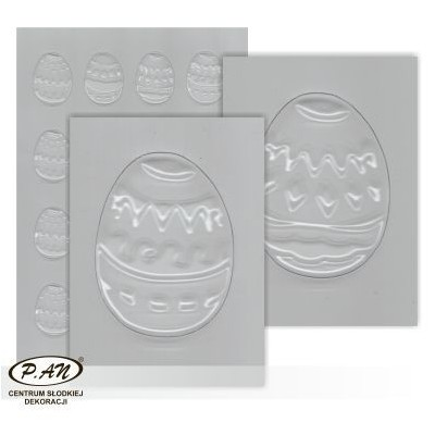 Plastic moulds for mini chocolate decorations FP3020