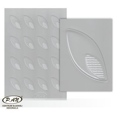 Plastic moulds for mini chocolate decorationsFP3007