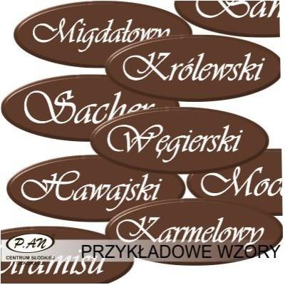 Kostka Węgierska - oval 4,5 cm DCNT