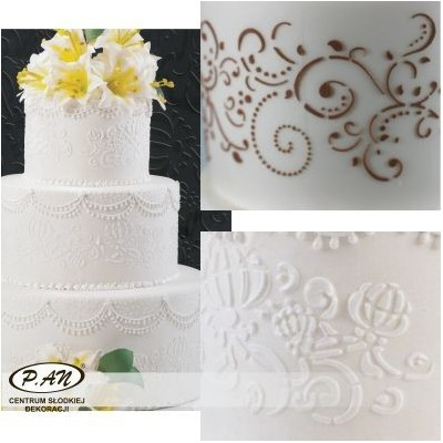 NEW! Decoration stencils for cake borders