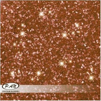 NEW! Edible Glitter - colour brown 5g