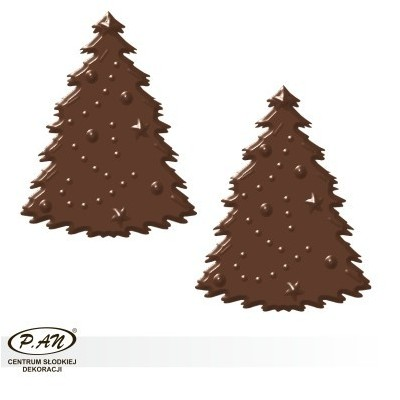 Chocolate decorations - 180 pcs - DC51