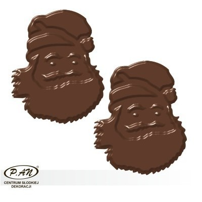 Chocolate decorations - 180 pcs - DC54