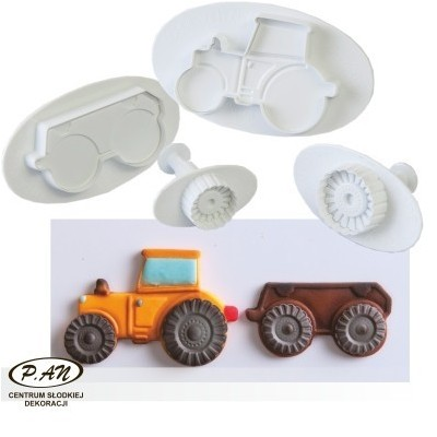 Plastic cutters - tractor