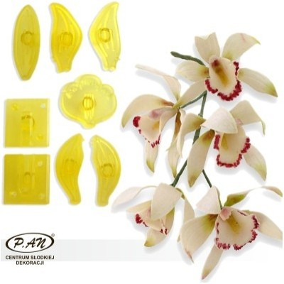 Plastic cutters for midle orchid