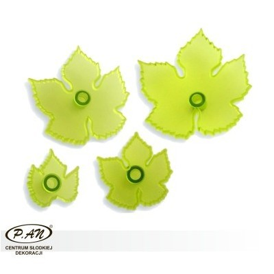 Plastic cutters ''leaves of the grape''