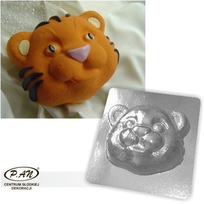 3-D plastic mould Little tiger 20cm  FT24