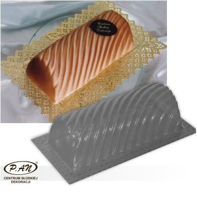 3-D plastic mould Fantasy roll, 22cm  FT18