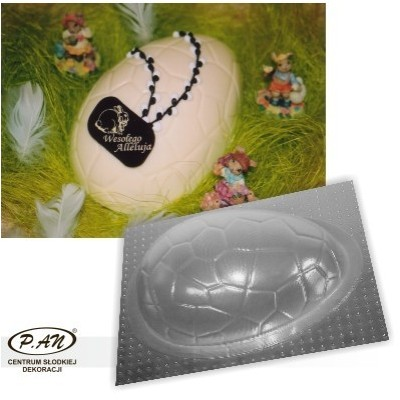 3-D plastic mould EASTER EGG 22cm  FT01
