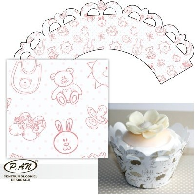 Cupcake wrappers,20 pcs. OW203