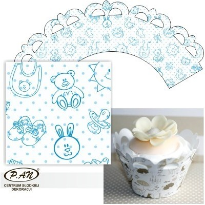 Cupcake wrappers,20 pcs. OW204