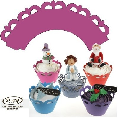 Cupcake wrappers,10 pcs. OW307