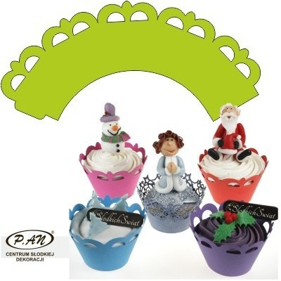 Cupcake wrappers, 25  pcs.  OW302