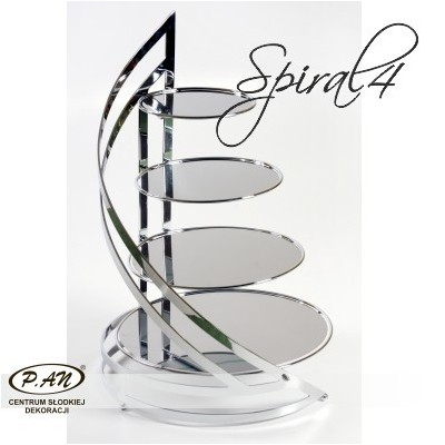 Metal stand, Spiral 4 SMS4