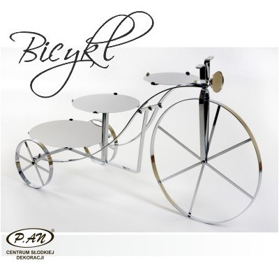 Metal stand, Bicycle