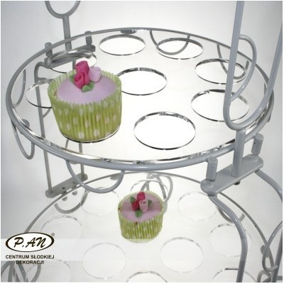 'CUPCAKE PLATE WITH RING 32' CT20