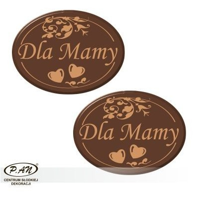 For Mum oval 40x30mm 80pcs DCN108