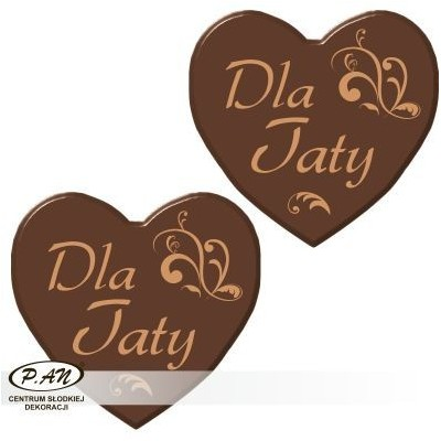 For  Dad heart 40mm 90pcs DCN449