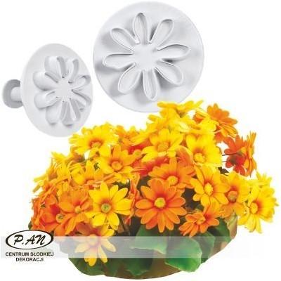 Plastic cutters - Marguerites 4 pcs