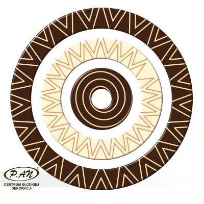 Tricolor  - okręgi 60,40,20 mm. 144 szt. w opk. - DC605