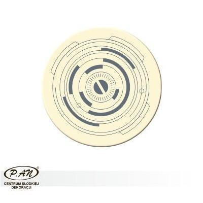 Dekoracje okrągłe 50 sztuk w opk. - DCN237