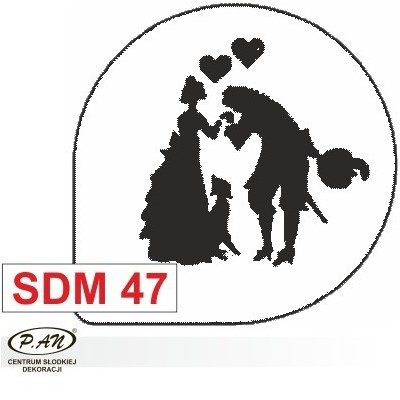 Decoration stencil - SDM47