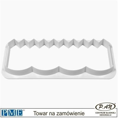 Wykrawaczka falbanka2 - 127x45mm - PME_FF382