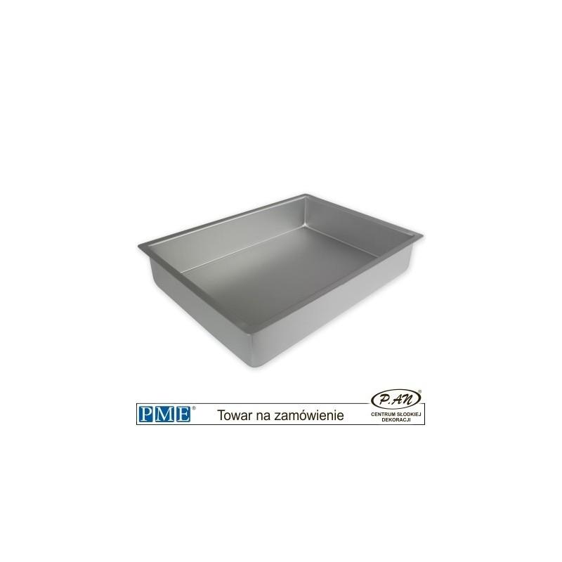 Oblong Cake Pan - 10x15x2'' -PME_OBL10152