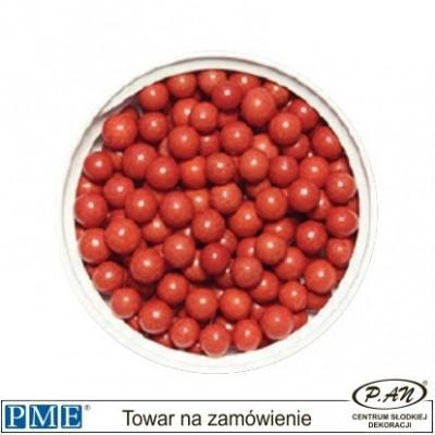 Cukrowe perełki - srebrne- 8mm - 25g -PME_SPS953