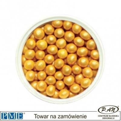 Małe cukrowe perełki-czarne-100g -PME_SPW954