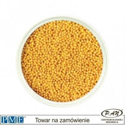Cukrowe perełki-złote-100g -PME_SPGD955