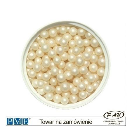 Cukrowe perełki- kremowy-100g -PME_PSI946