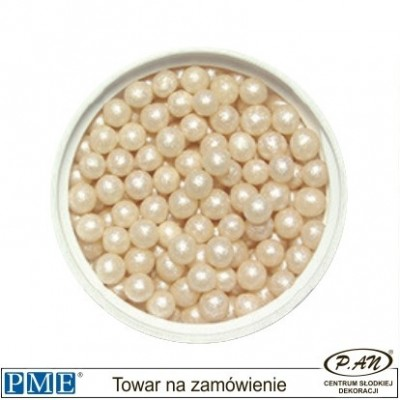 Cukrowe perełki- kremowy-100g -PME_PSI945